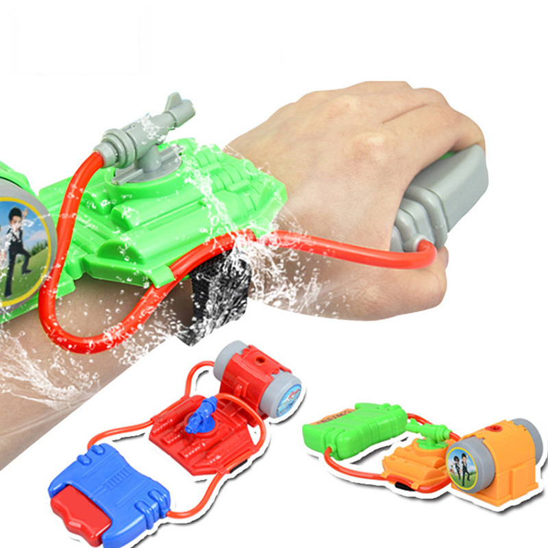 SLPF Summer Hand-held Water Pistol Children Wrist Spray Water Gun Beach Water Toys Kids Baby Outdoor Games Play Water Toy G20