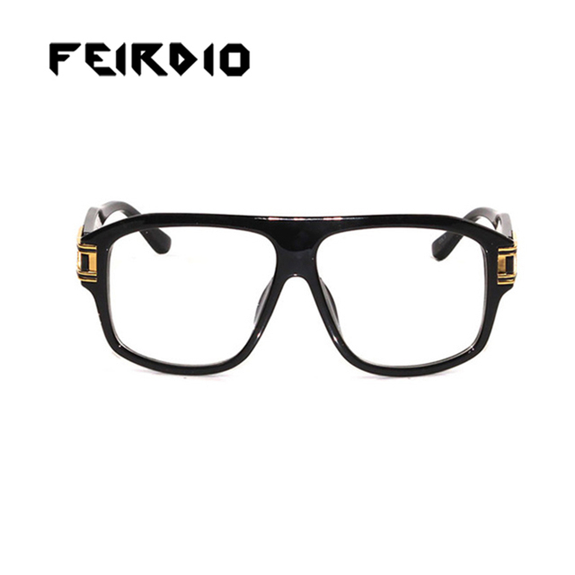 9ee8e40a17e0c Feirdio Newest Woman Male Sun Glass Metal Frame Sports Goggles Retro Club Oculos  Gafas De Sol Resin Anti-Glare Driver Safety