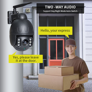Image 3 - INQMEGA 1080P PTZ Speed Dome IP กล้อง WiFi การติดตามอัตโนมัติไร้สายเครือข่ายกลางแจ้งกล้องวงจรปิดการเฝ้าระวังความปลอดภัยกล้องกันน้ำ