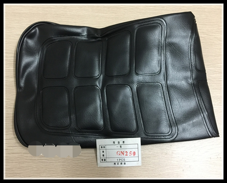 Motorcycle Good Quality Water Proof GN250 Seat Cover In Black Color For Suzuki 250cc GN 250 Seat Spare Parts(China)
