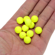 LEO 30pcs Fishing Float Balls Bottled EPS Foam Buoyancy Ball Float Gear Flotadores isca Fish Float Outdoor Fishing Accessory