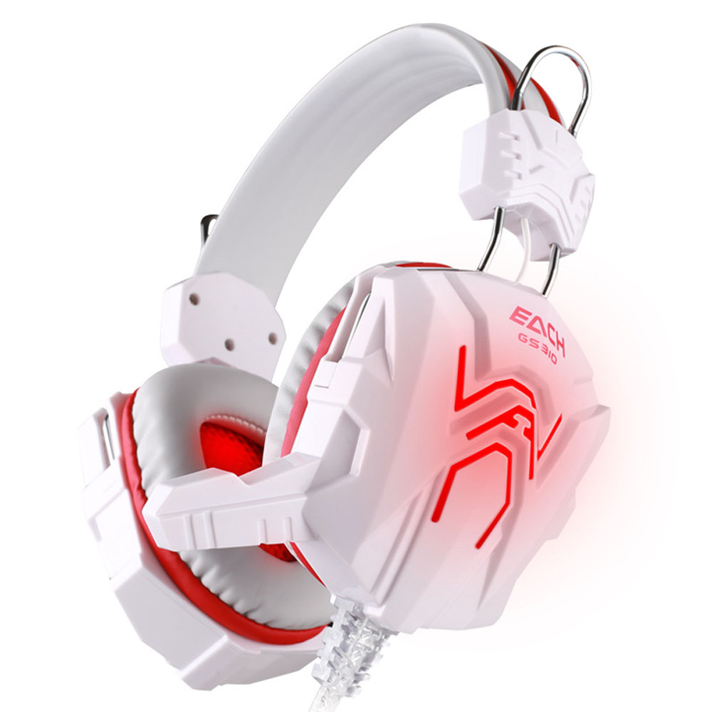HL  HOT Stereo Gaming Headphone Computer Game Headset with Mic Red LED Light AUG 23 гарнитура skullcandy ink d with mic dark red s2ikhy 481