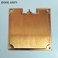 KOOLASON 90*90*3mm Superconduct Copper computer Heat sinks cooling Hot thermal plate power heat pipes Vapor Chamber