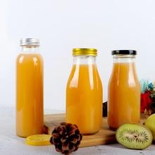 Ферментная бутылка для напитков пробковая стеклянная бутылка для холодного чая