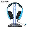 Sades Gaming Headphone Stand titular do fone de ouvido Sennheiser exposição profissional rack de Headset Hanger Bracket para AKG Logitech Sony