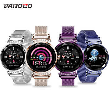 DAROBO H2 Smart Watch Women Physiology Periodic Monitor Blood Pressure Heart Rate Waterproof woman Smartwatch for Android IOS - DISCOUNT ITEM  32% OFF All Category