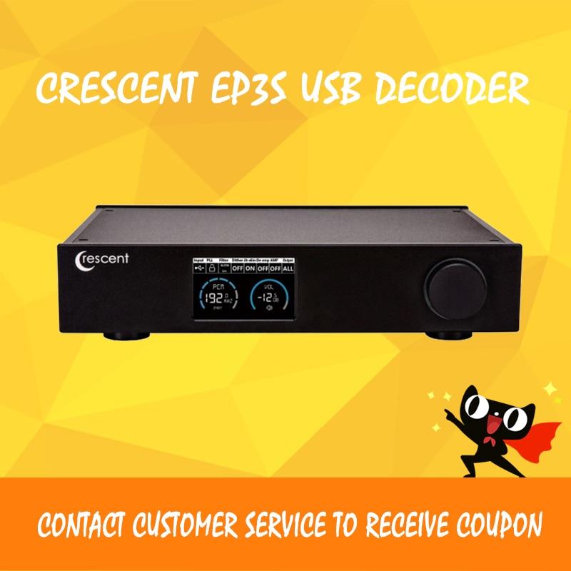 Crescent ep3 amplifier audio usb dac dsd xmos es9038 decoder amplifiers dac amp amplificador audio цены
