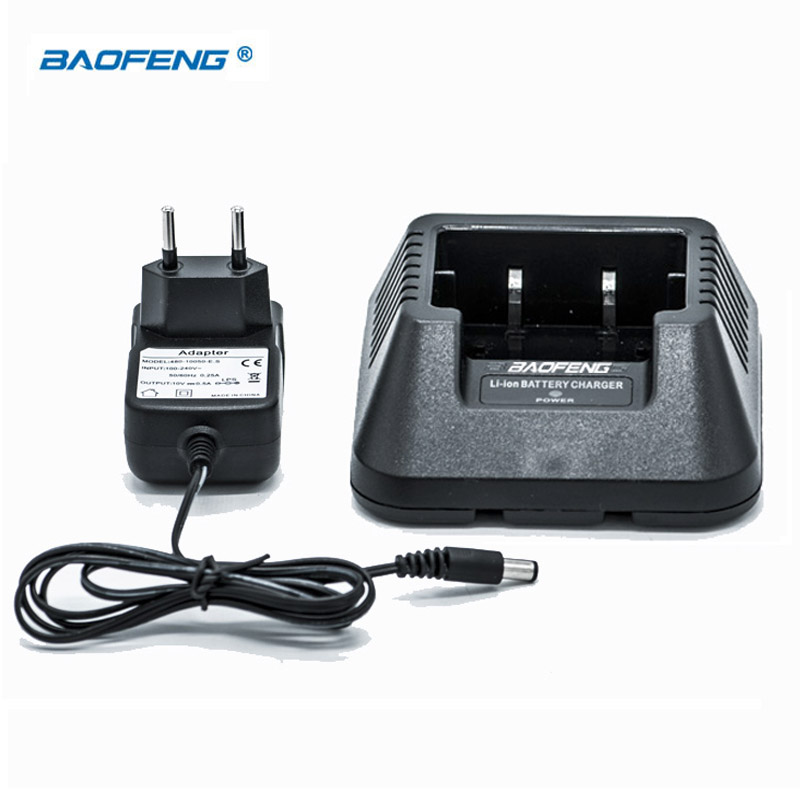 Baofeng Walkie Talkie UV-5R Original Charger All New UV 5R Desk Charger Station For UV-5R 5RE 5RA 100V~240V EU Power Plug Base