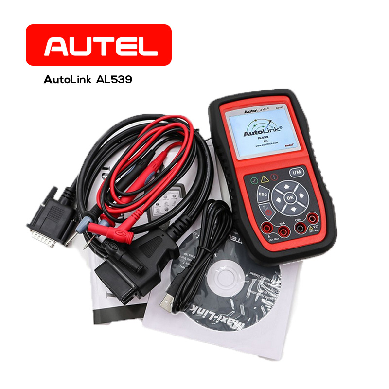 US $79 99 20% OFF|AUTEL AutoLink AL539 Electrical Test Tool AVO Meter  Automotive CAN Code Reader OBD2 Scanner Car Diagnostic Tool Free Update-in  Code