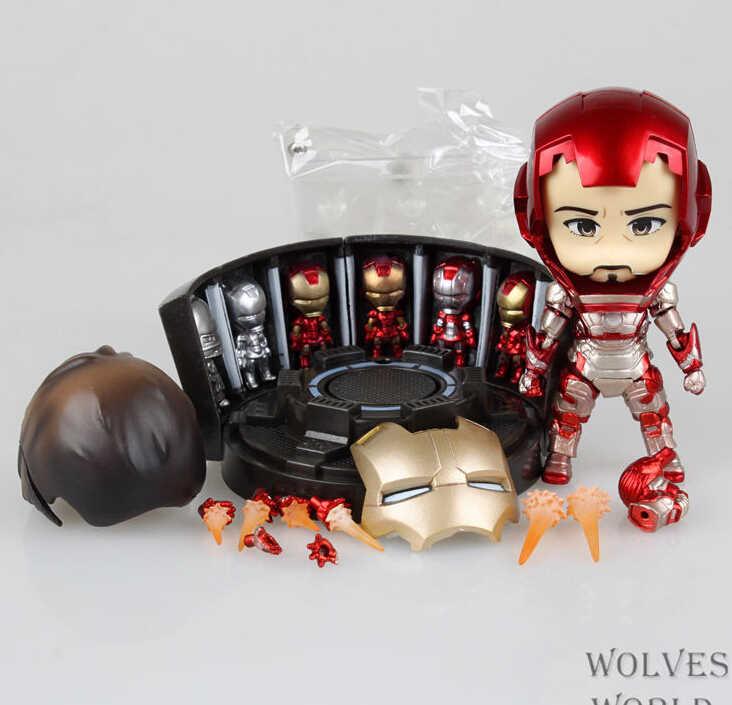 Железный человек Марка 42 Фигурки ПВХ brinquedos Коллекция Фигурки игрушки для Рождественский подарок с розничной коробкой