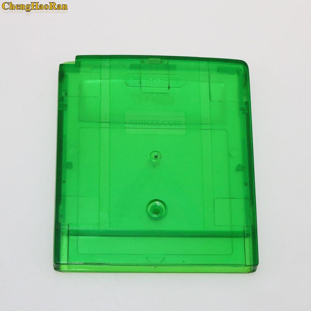 Image 3 - ChengHaoRan 10 個グレークリアグリーンゲームカード GB GBC 用 GBA SP ゲームカートリッジケース収納ボックス -    グループ上の 家電製品 からの 交換部品 & アクセサリー の中