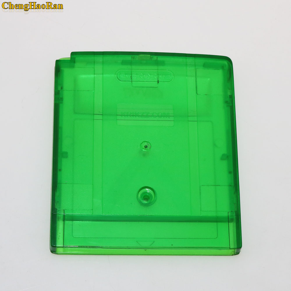 Image 3 - ChengHaoRan 10pcs Grey Clear Green Game Card Housing Case for GB GBC GBA SP Game Cartridge Case Housing Box-in Replacement Parts & Accessories from Consumer Electronics