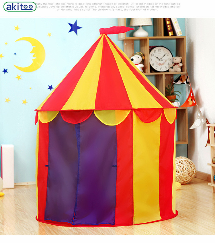 Top Nuovo arrivo akitoo circo Per Bambini kid Castle Tenda Bambino  QO57