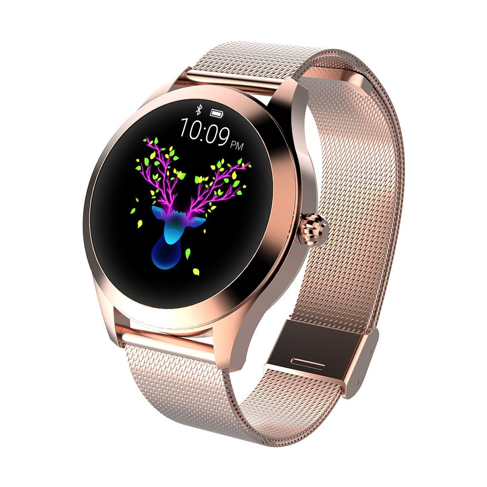 696 KW10 Smart Watch Women 2018 IP68 Waterproof Heart Rate Monitoring Bluetooth For Android IOS Fitness Bracelet Smartwatch in Smart Wristbands from Consumer Electronics