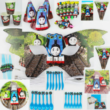Quality Thomas Kids happy Birthday Party Decoration cup plate spoon forks banner hat festival Party event  sc 1 st  AliExpress.com & Buy thomas paper plates and get free shipping on AliExpress.com