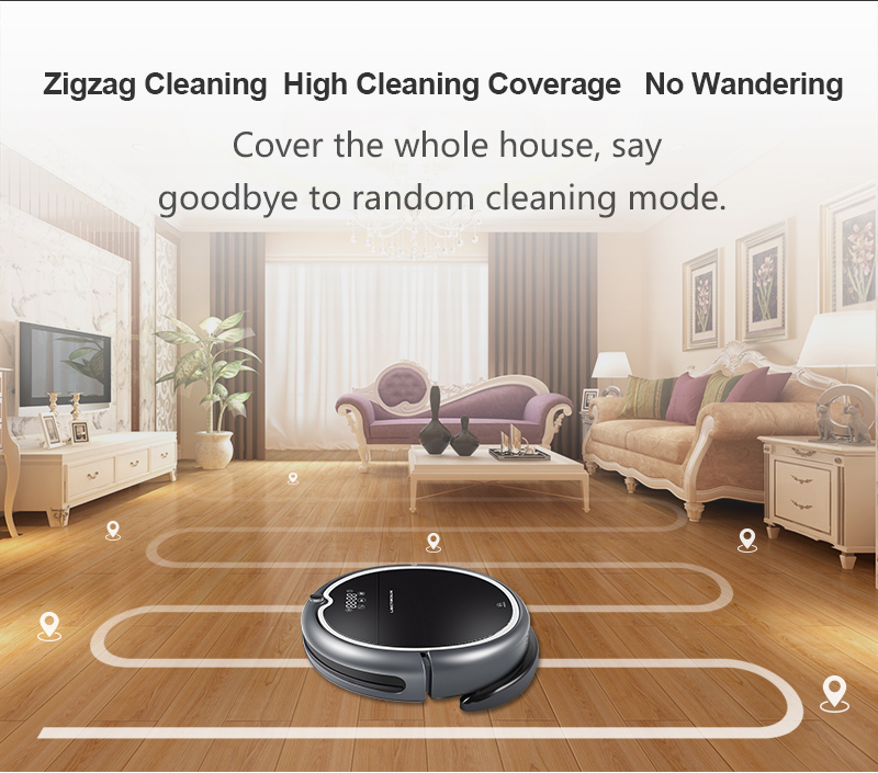 Powerful Robot Vacuum Cleaner   2