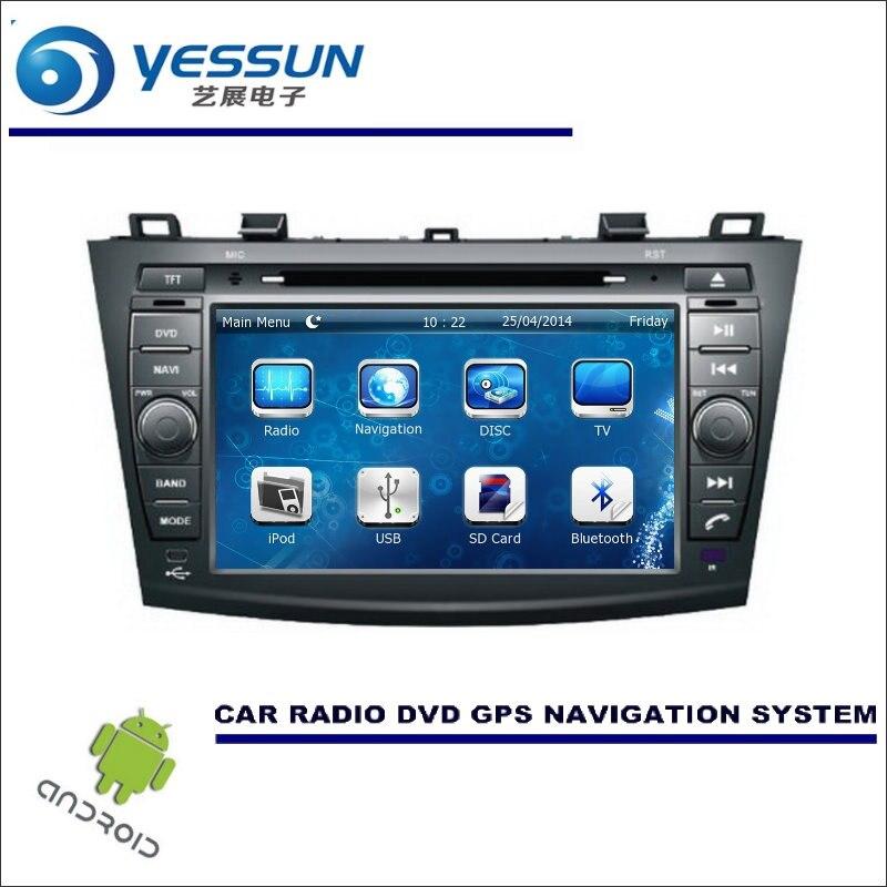 YESSUN Car Multimedia Navigation System For Mazda 3 2008~2013 / CD