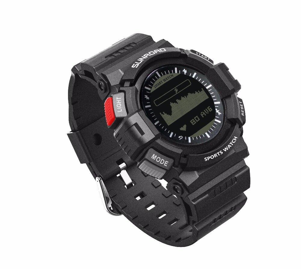 SUNROAD Heart Rate Monitor Smart Watch 5ATM Waterproof ...
