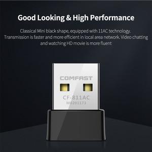 Image 4 - USB беспроводной Wi Fi адаптер, 650 Мбит/с, RTL8811