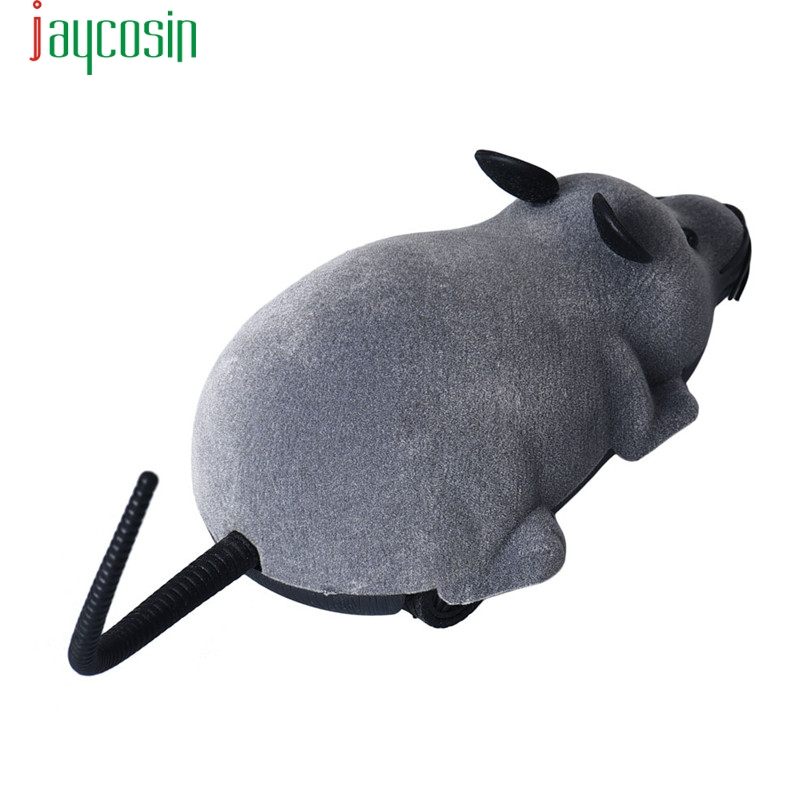 HIINST drop ship New Scary R/C Simulation Plush Mouse Mice With Remote Controller Kids Toy Gift Gray S25 AUG1420 ...
