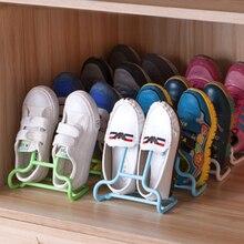 10PCS/Set Multi-Function Shelf Creative Drying Rack Shoe Stand Hanger Kids Shoes Hanging Storage Floor Type