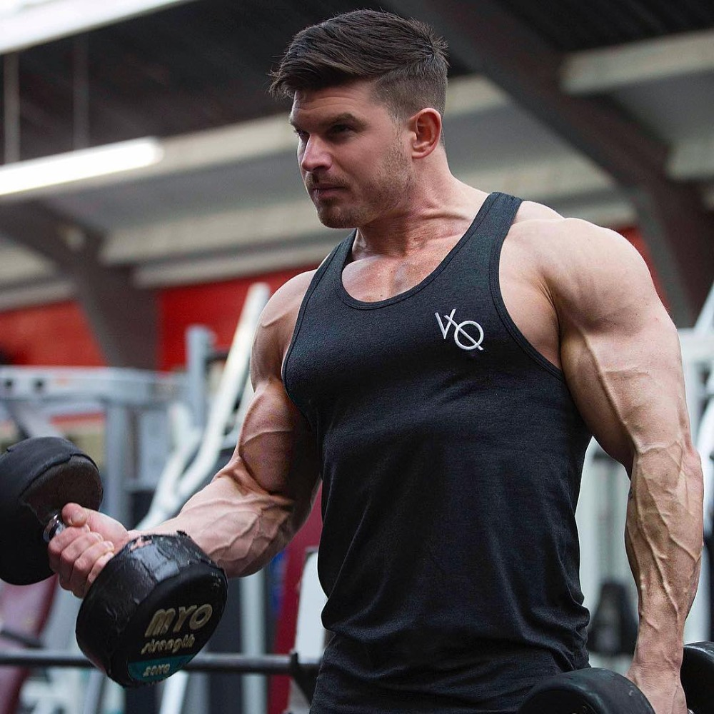 New Mens Vanquish Sleeveless Vest Summer Print Cotton Male Tank Tops Clothing Bodybuilding Undershirt Golds Fitness tank top