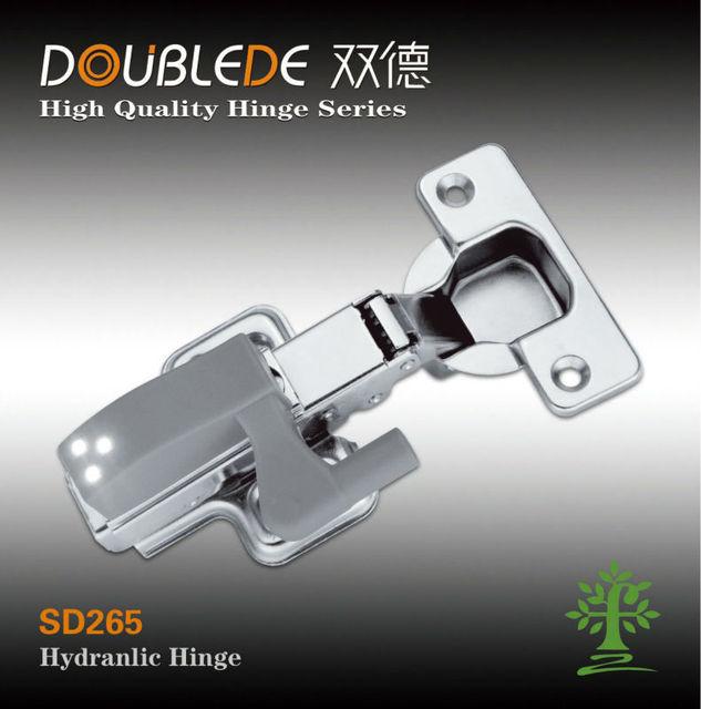 LED light hydraulic hinge