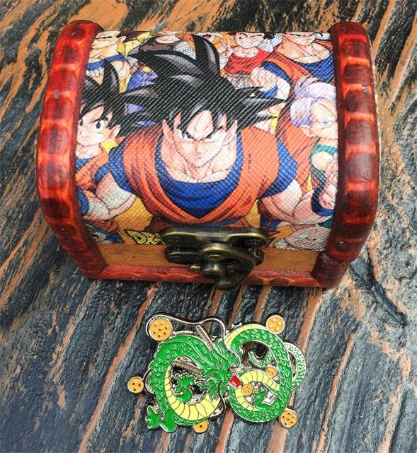 Брошка с драконом в подарочной коробке Аниме Драконий жемчуг Dragonball Z 1