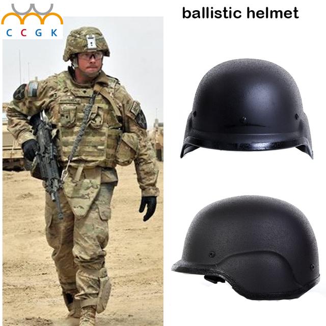 Militar do exército tático swat polícia combate Paintball M88 Capacete à prova de balas NIJ IIIA PE ar arma de defesa pessoal rápido ballistic helme