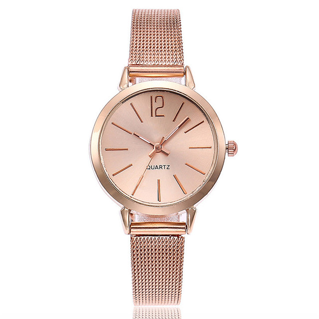 Women Stainless Steel Lady Bracelet Watch vansvar Brand Elegant Dial Quartz Casual Wrist Watch Clock Gift reloj mujer #D