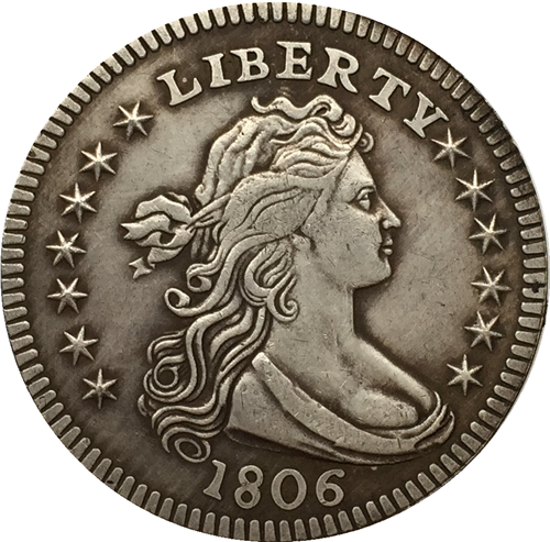 1806 Draped Bust Quarters COIN COPY FREE SHIPPING