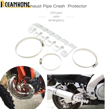 Motorcycle Exhaust Muffler Pipe Guard Heat Shield Cover For  KTM SX EXC XCF SXF XCW SMR CFR 125 150 450 250 350 500 Dirt bike цены онлайн