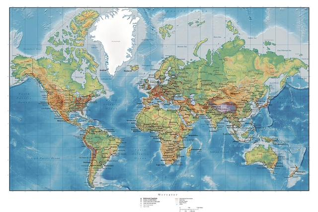 Custom canvas world map poster world map wall stickers wall decals custom canvas world map poster world map wall stickers wall decals retro map of world wallpaper gumiabroncs Gallery