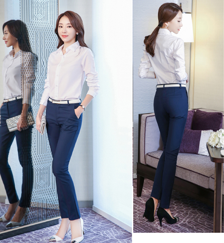 Women Pencil Pants 2019 Autumn High Waist Ladies Office Trousers Casual Female Slim Bodycon Pants Elastic Pantalones Mujer 19