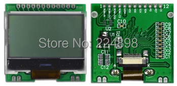 12PIN Backlight COG 12864 LCD Module with Chinese font ST7565R Controller 3.3V 5V