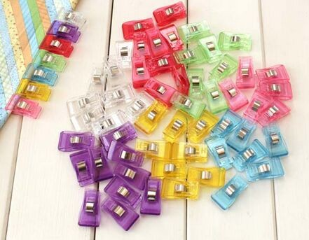 Aliexpress.com : Buy 100pcs clover wonder clips PVC Plastic Clips ... : clover quilting - Adamdwight.com