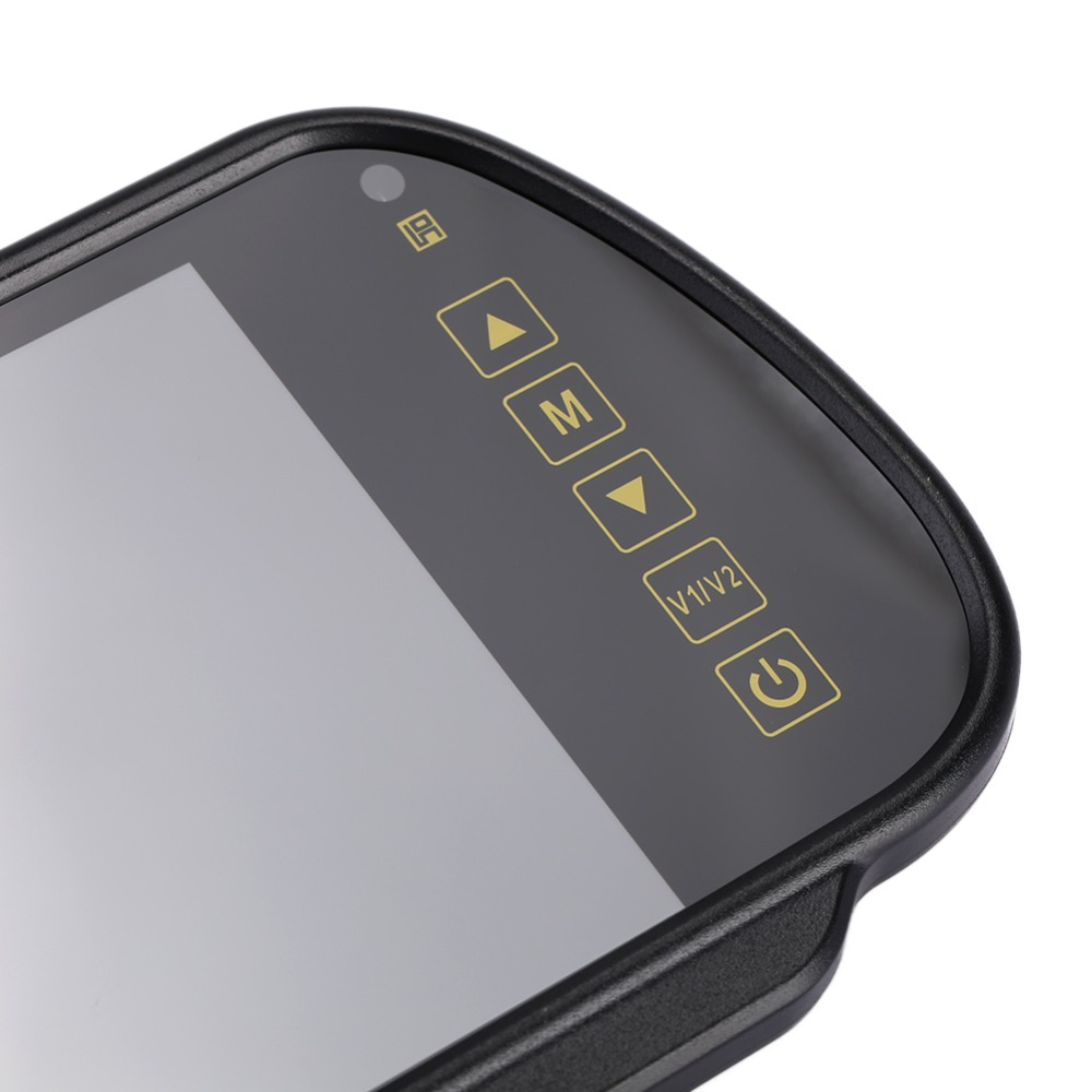 16:9 7 zoll 800*480 TFT LCD Bildschirm Auto Monitor Reverse Parkplatz Dash Cam Rückansicht Spiegel Auto Video spieler Rück Kamera