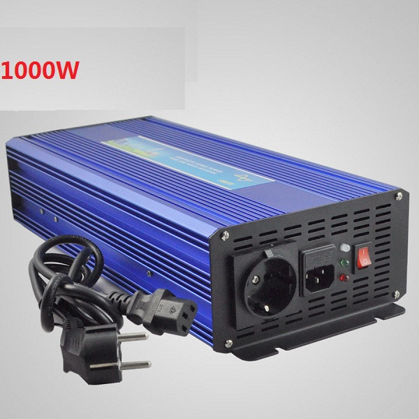 цена на Surge Power 2000W 1000W DC12V/24V to AC110V/220V Pure Sine Wave Power Inverter with UPS battery charging function