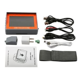 Image 5 - 4,3 дюймовый наручный CCTV тестер 1080P портативный тестер камеры AHD TVI CVI CVBS Тестер TFT LCD аналоговый видео тестер 12 В выходная мощность