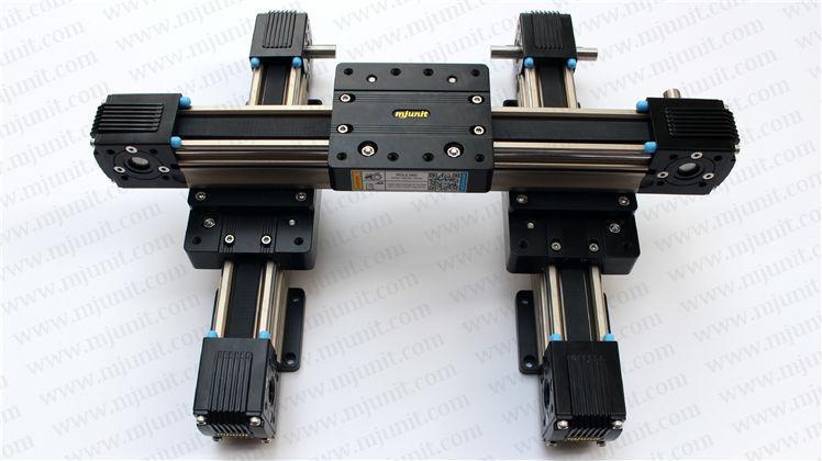 LINEAR WAY roller guide actuator motion rail tbi module professional manufacturer linear rail guideway double actuator mini way belt drive actuator for laser machine