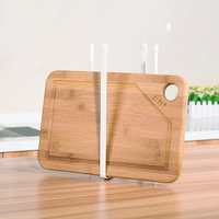 Creative Metal Iron Folding Cup Holder Kitchen Shelf Water Storage Rack Chopping Board Holder Multifunction Holder