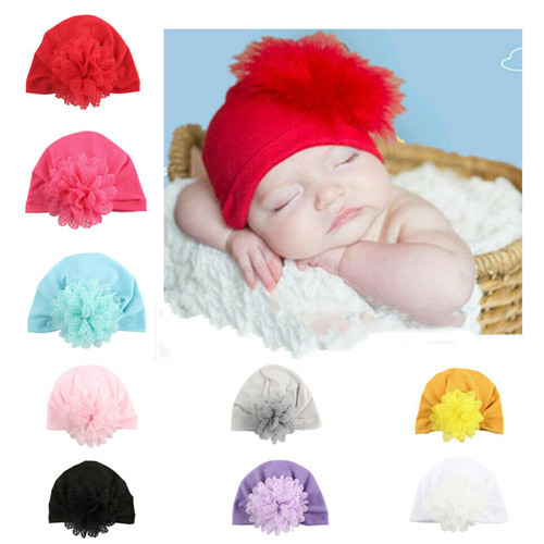 2019 Girls Baby Toddler Turban Solid Headband Hair Band Bow Accessories Headwear Baby Hat Newborn Photography New Hot Sale To Be Renowned Both At Home And Abroad For Exquisite Workmanship, Skillful Knitting And Elegant Design