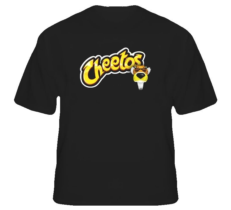 Chester Cheetah Cheetos Chips T Shirt Tee Shirt Mens 2017