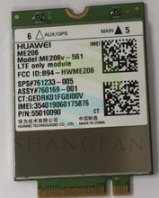 Huawei me206 4g lte me206v-561 sps: 761233-005 lte (fdd) b2/b4/b5/b13/b17 fdd modems 4g karte
