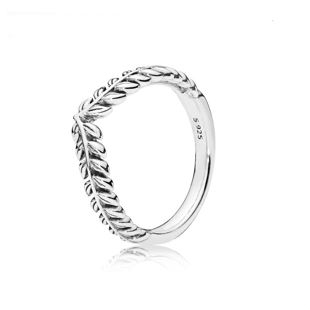 2018 New 925 Sterling Silver Rings Jewelry Women Lively Wish Ring Fit Diy Charm Original Female