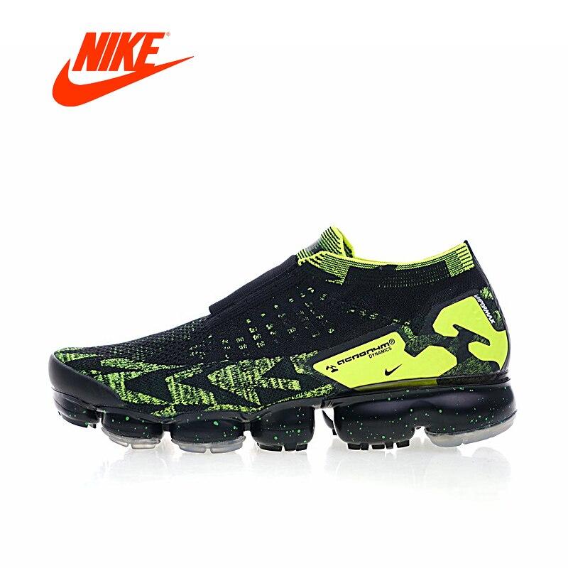 Original Nouvelle Arrivée Authentique Nike Air Vapormax FK Moc 2 Acronyme Hommes Respirant Chaussures de Course En Plein Air Sneakers AQ0996-007