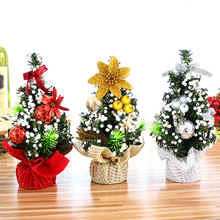 2019 Merry Christmas Tree Bedroom Desk Toy Doll Gift Christmas Tree Home Mini Artificial Trees Christmas Decorations For Home цена 2017