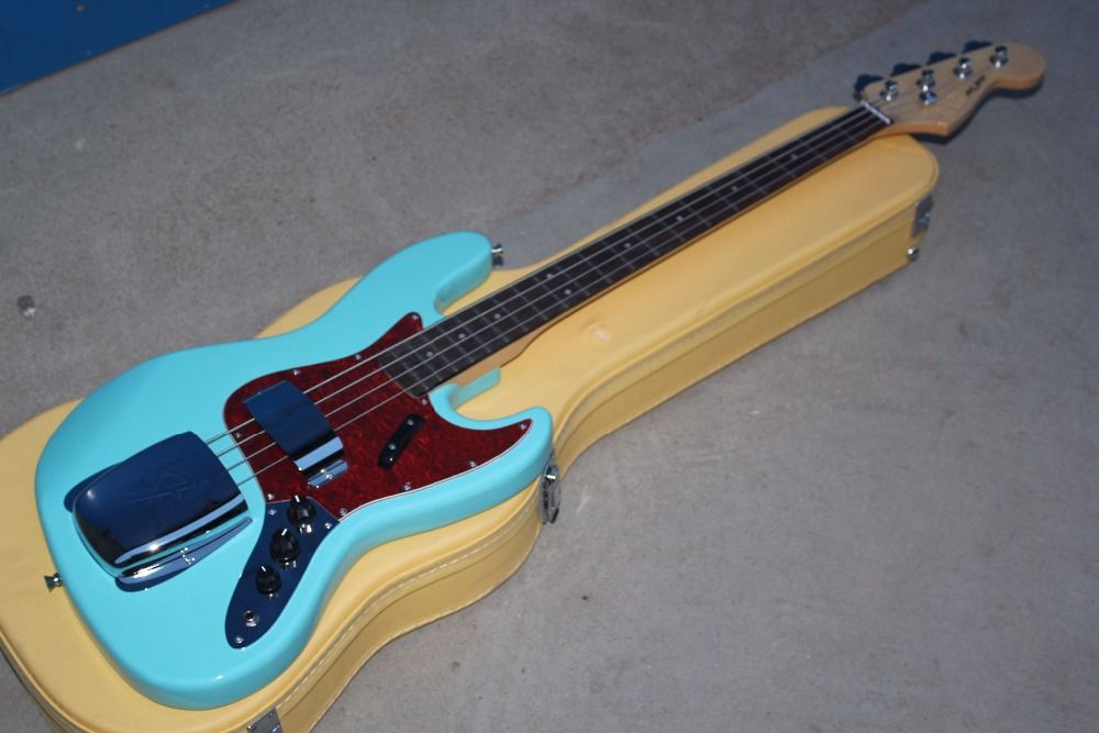 Factory custom High Quality 4 Strings jazz bass Guitar with Hardware ,free shipping 17 11