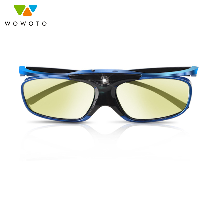 WOWOTOU 3D cinema Shutter type 3D video glasses virtual reality red blue goggles smart glasses