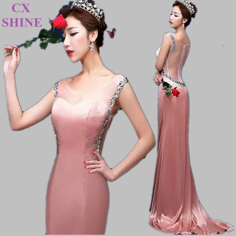 CX SHINE Custom V Neck Trumpet Mermaid stain Lace long evening dresses Black Purple prom party dress Vestidos Robes Abendkleid